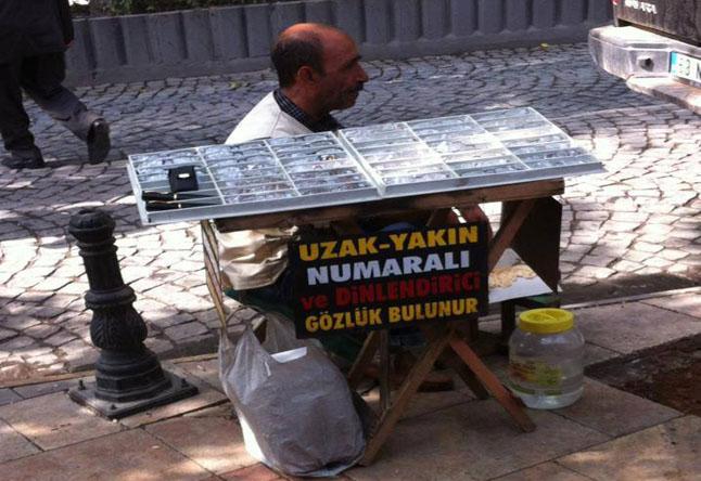 Sokaklarda satılan gözlüklere dikkat!
