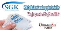 SGK Optik Faturalarından Yapılan Kesintiler