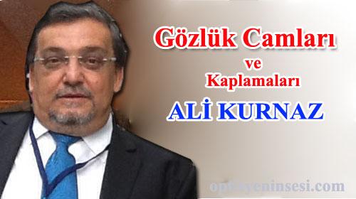 Gözlük Camları- Ali Kurnaz