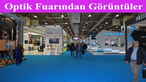 İstanbul'da Optik fuarı…