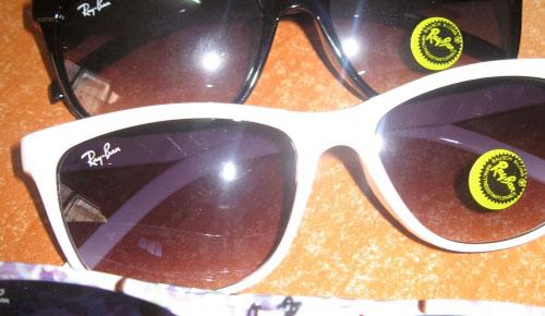 Çin'den gelen binlerce gözlük ele geçirildi