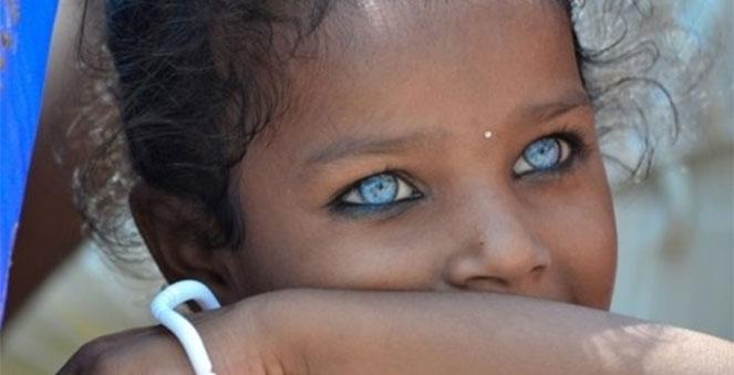 Mavi gözlü insanların tek ortak atası varmış…