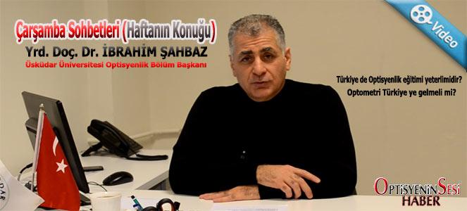"""Çarşamba Sohbetleri """"Doç.Dr.İbrahim ŞAHBAZ"""""""