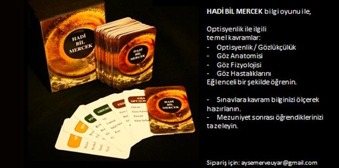 """""""HADİ BİL MERCEK"""" Bilgi Oyunu"""