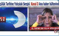 Gözlük Sergisi Ana haber bültenlerinde…