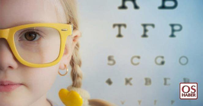 Çocuğunuz başarısızsa gözlerini kontrol ettirin