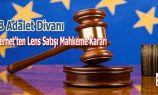 AB Adalet Divanının Kontakt Lens Kararı