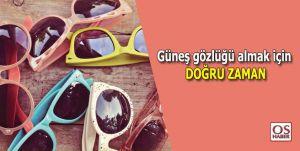 Sezondaki Güneş Gözlükleri