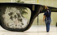 Bişkek'te 6 Metre Uzunluğunda Gözlük Yapıldı
