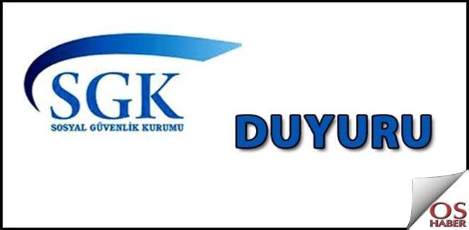 SGK, Ürün Takip Sistemi (Üts) Hakkında Önemli Duyuru
