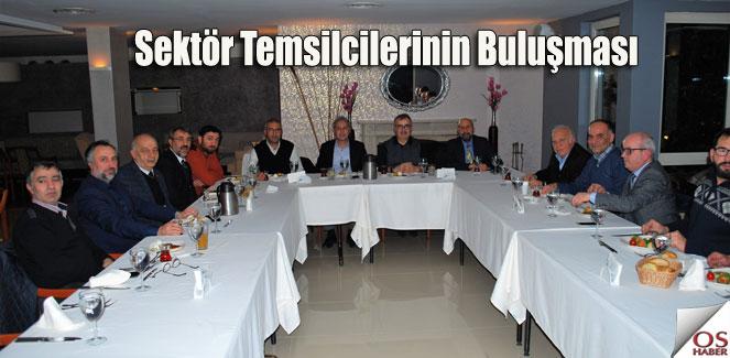 Sektör temsilcileri akşam yemeğinde buluştu