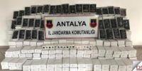Manavgat'ta kaçak gözlük operasyonu