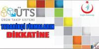 TİTUBB – Ürün Takip Sistemi (ÜTS)