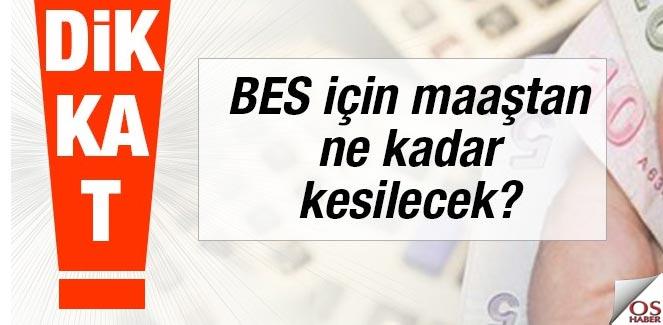 """BES'e """"otomatik katılım takvimi"""" açıklandı"""