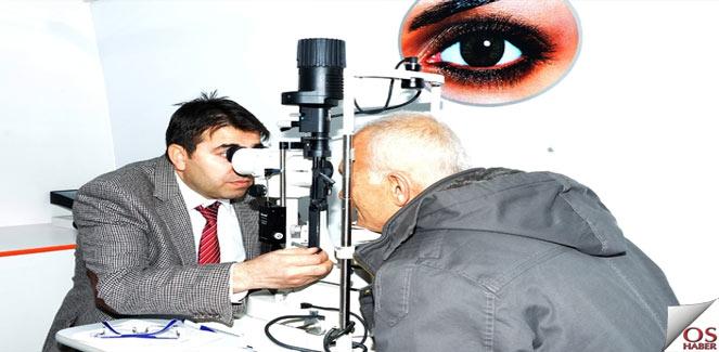 Gezici göz sağlığı araçları hizmette…