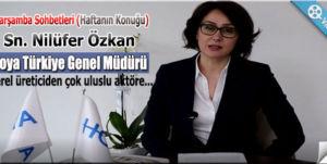 """Çarşamba Sohbetleri """"Nilüfer Özkan"""""""