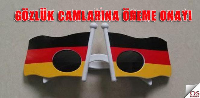 Almanya sağlık sigortası gözlük camlarını ödeyecek