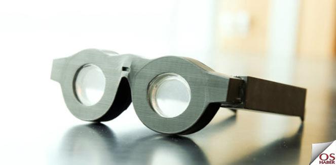 Elektrikli Gözlükler Geliyor