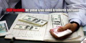 Yurtdışından Alınan Kredilerde Oranlar İndirildi!