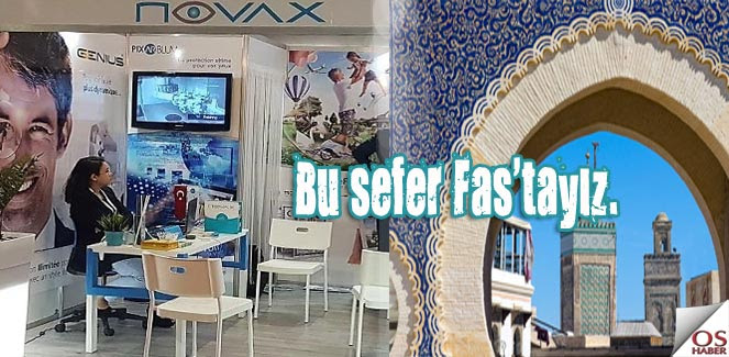 Fas'ta bir Türk markası; NOVAX !