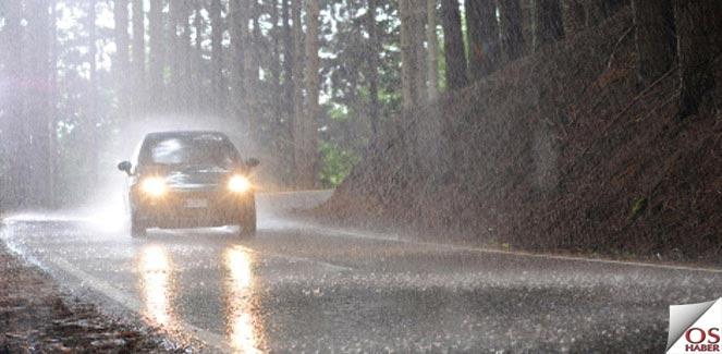 Sürücüler Yağmurlu Havalarda Güneş Gözlüğü Kullanmalı
