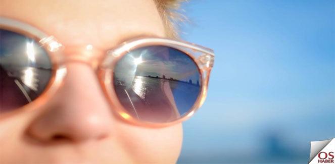 Güneş Gözlüğünde Dikkat edilecek hususlar