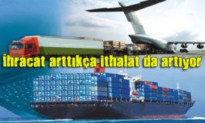 İthalat maliyetleri, ihracatta rekabet gücümüzü olumsuz etkiliyor