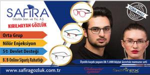 Safira- Kırılmayan Gözlük