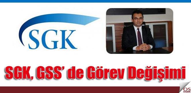 SGK GSS Yeni Genel Müdürü görevine başladı.
