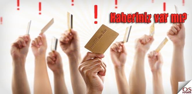 Kredi kartları internet alışverişine kapanıyor