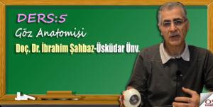 Göz Anatomisi/ Doç. Dr. İbrahim Şahbaz