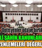 Milletvekili Şahin Kanunlarda Yapılan Yeni Düzenlemeleri Değerlendirdi