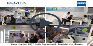 Silmo İstanbul 2017 Fuarında Cemfa Optik üstün ZEISS yeniliklerini müşterilerine sundu.