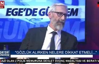 """Ege Gözlükçüler Federasyonu Başkanı Kamil Nuri Gizer'in """"Ege'de Gündem"""" Program Röportajı"""