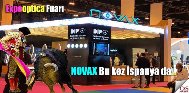 'NOVAX, Expooptica-Madrid Fuarındaydı !