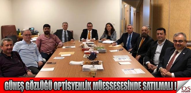 İTO Gözlükçülük Meslek Komitesi Mayıs ayı olağan toplantısı yapıldı