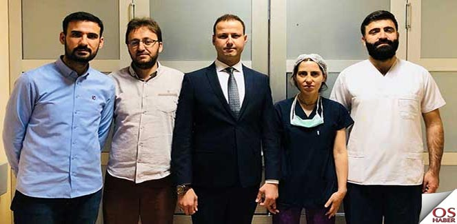 Mardin'de ilk kez kornea nakli ameliyatı yapıldı