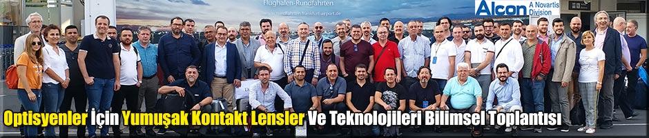 """""""Yumuşak Kontakt Lensler Ve Teknolojileri"""" Bilimsel toplantısı yapıldı"""