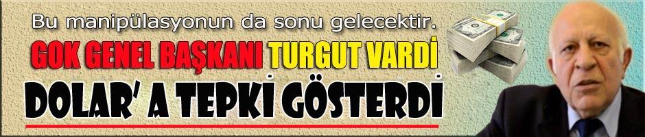 GOK ve TOOMD Başkanı Sn. Turgut Vardi' den Dolar Tepkisi