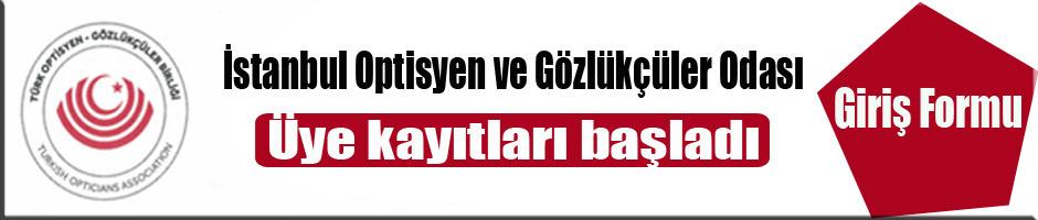 İstanbul Optisyen ve Gözlükçüler Odası üye kayıtları başladı