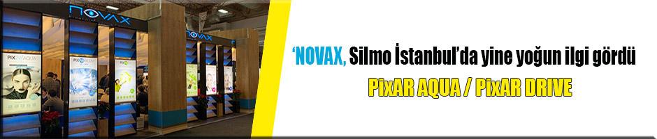'NOVAX, Silmo İstanbul'da yine yoğun ilgi gördü.
