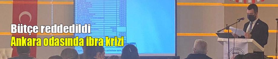 Ankara odasında ibra krizi