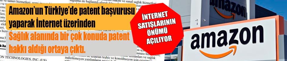 Amazon, Türkiye' de sağlık alanına giriyor!